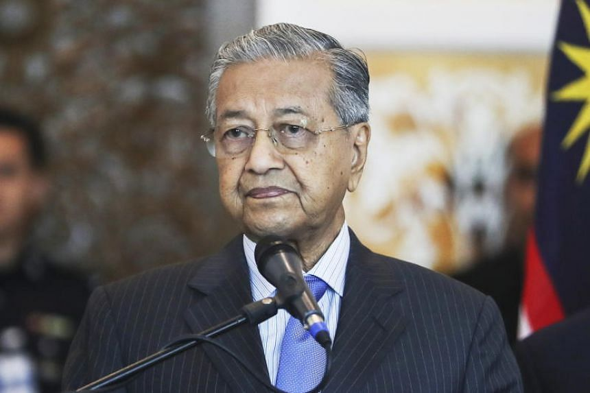 Malaysian Prime Minister Mahathir Mohamad during press conference in Putrajaya, on May 30, 2018.
