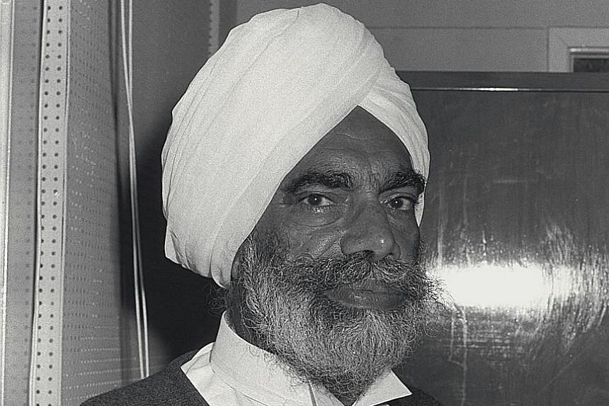 Justice Choor Singh started out as a solicitor's clerk and rose to the top of the legal profession.