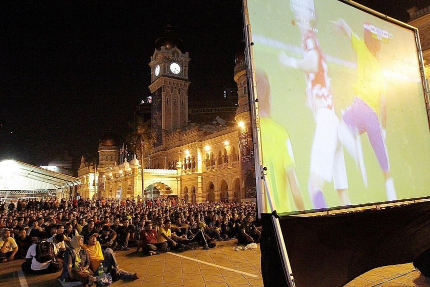 Dataran Merdeka in Kuala Lumpur was transformed to host a giant screening party for World Cup matches from Brazil in 2014. This year, the Malaysian government will use sponsors to absorb part of the cost of showing a total of 41 matches from Russia.