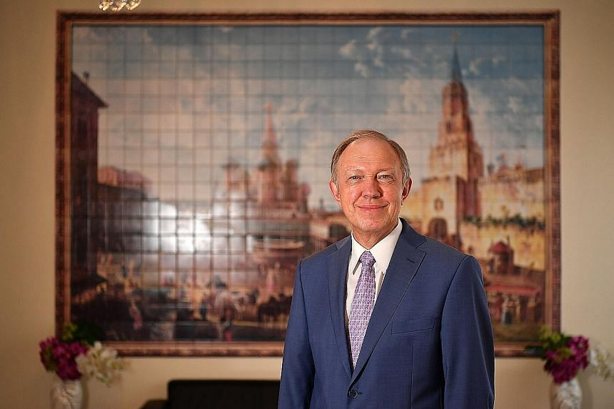 Russia's Ambassador to Singapore, Andrey Tatarinov, is adamant that his country will not follow in the footsteps of previous World Cup host nation Brazil and allow the tournament's facilities to become white elephants.