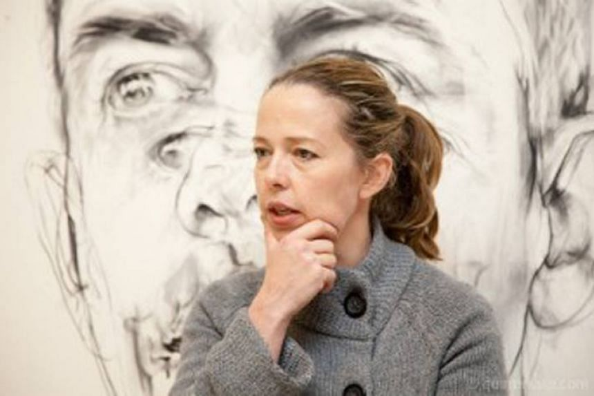 From works by younger newcomers like Jenny Saville (pictured) to established greats such as Georgia O'Keefe, art by women is in growing demand.