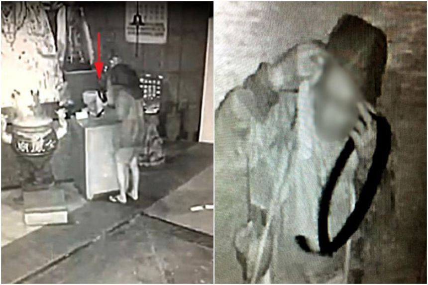When the temple management reviewed surveillance footage, they discovered that a man had been stealing money several times a month from as early as March.