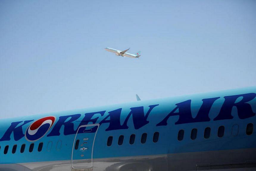 A Korean Air spokesman said an investigative team was at the headquarters.