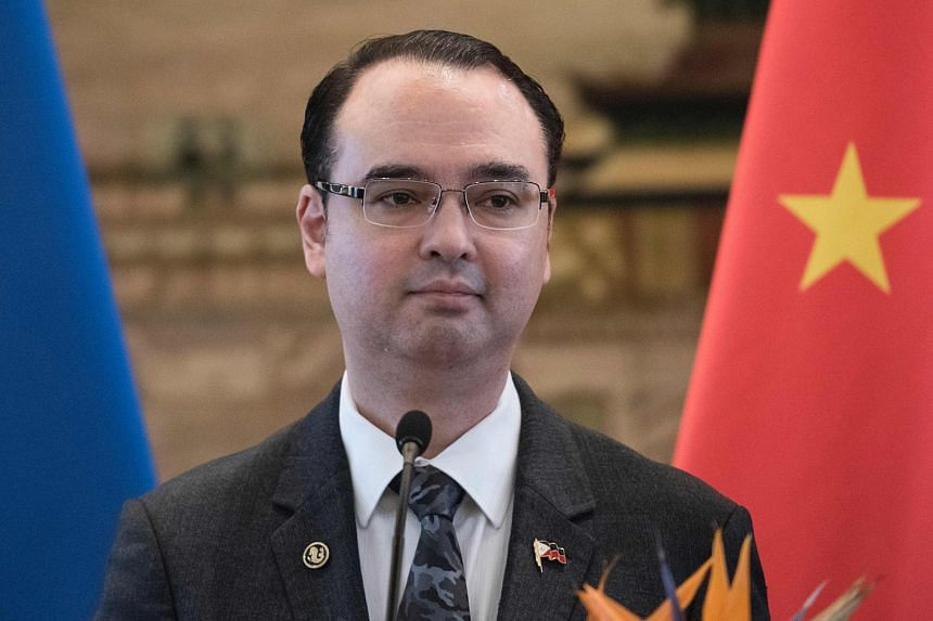 Philippines Department of Foreign Affairs (DFA) secretary Alan Peter Cayetano said there were concerns in 2017 that China was setting up a permanent base when one of its ships ran aground inside a lagoon at Scarborough.