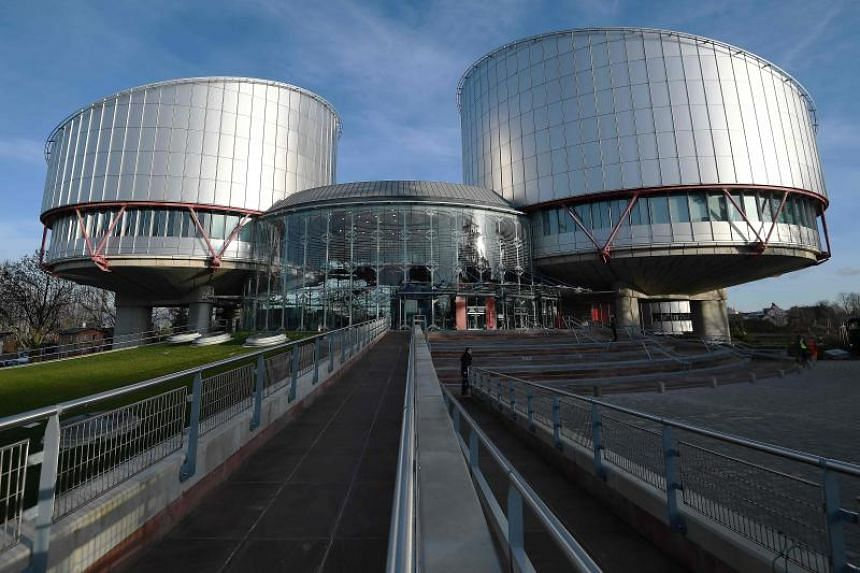 The European Court of Human Rights headquarters in Strasbourg, France. The court has ordered Lithuania and Romania to pay 100,000 euros (S$156,182) to each complainant.