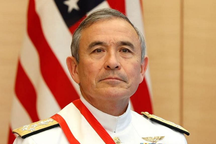 """Outgoing US Navy Admiral Harry Harris said China's """"dream of hegemony in Asia"""" was his country's biggest long-term challenge."""