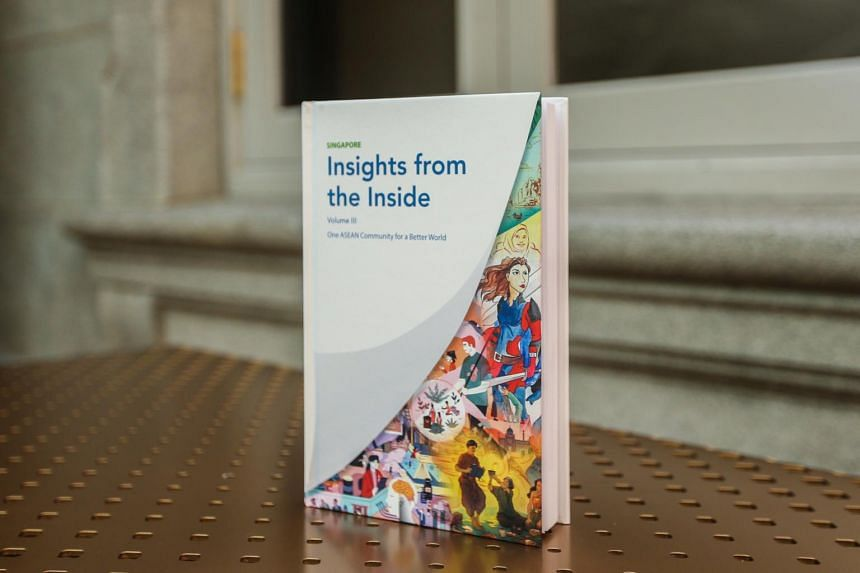 The book - Singapore: Insights from the Inside - offers perspectives of contributors across 20 nationalities.