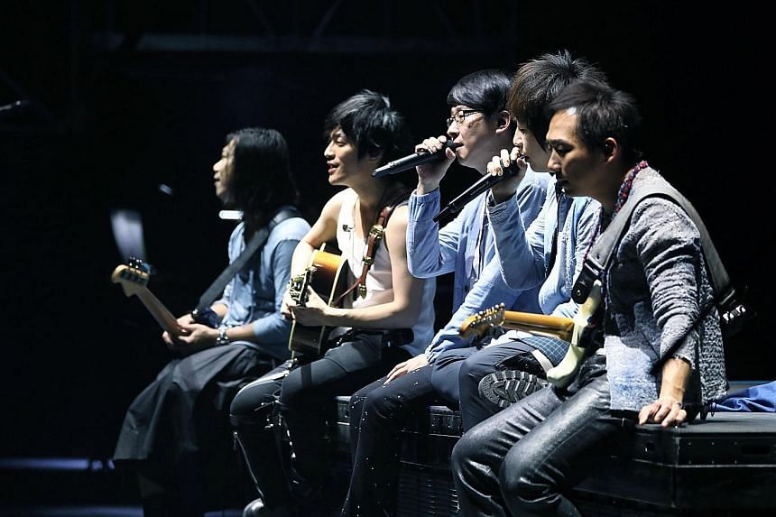 Taiwanese rock band Mayday
