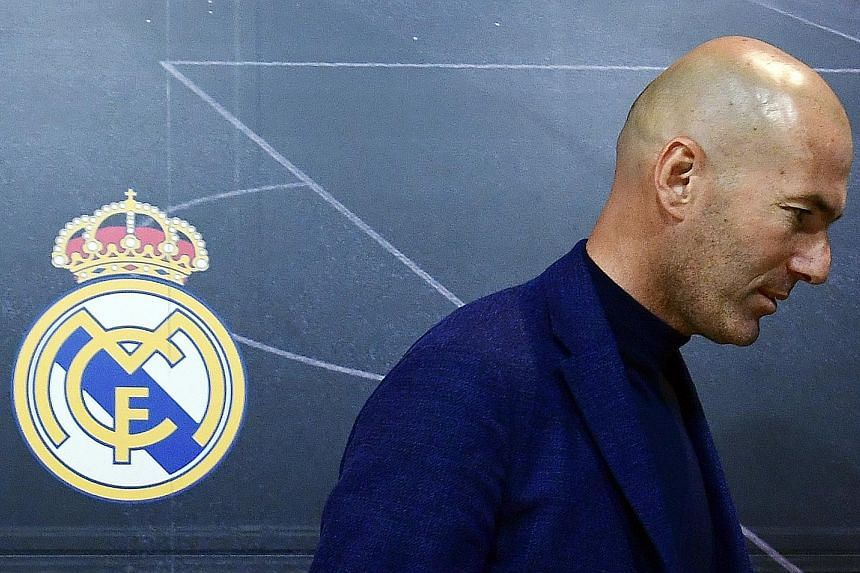 Zinedine Zidane turns his back on Real Madrid and leaves after announcing at a press conference he is stepping down as their manager yesterday. The Frenchman capped his first senior-club management stint by making history last Saturday as he became t
