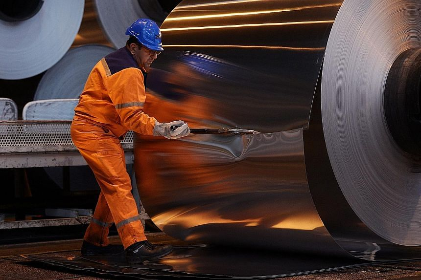The US yesterday said a 25 per cent tariff on steel imports and a 10 per cent tariff on aluminium imports from the EU, Canada and Mexico would go into effect at midnight, with Commerce Secretary Wilbur Ross saying any retaliation by other countries i