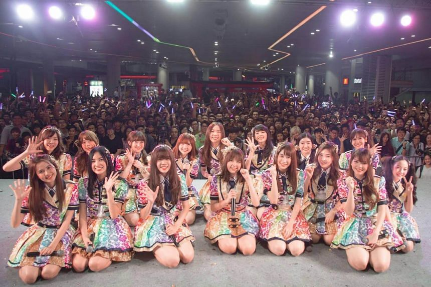 BNK48, the third international sister group of Japan's AKB48, after Indonesia's JKT48 and China's SNH48.