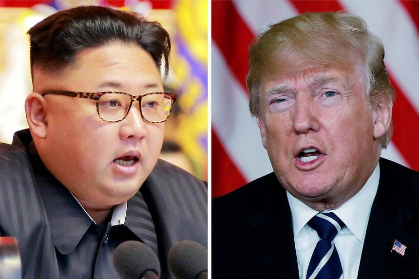 The summit between US President Donald Trump (right) and North Korean leader Kim Jong Un on June 12, now appears increasingly likely to take place.