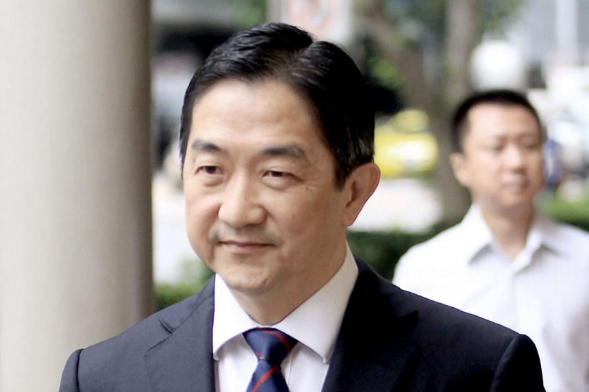 File photo showing Malaysian businessman John Soh Chee Wen at the High Court, on Jan 27, 2016. He and two others were implicated in the infamous 2013 penny stock crash.