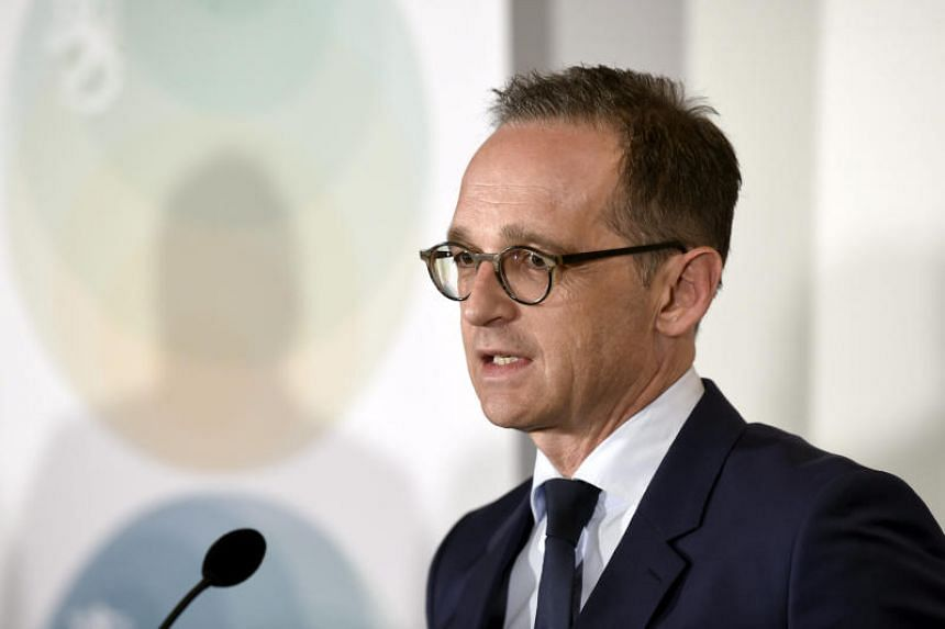 """Germany's Foreign Minister Heiko Maas said, """"Our response to 'America First' can only be: 'Europe United'."""""""