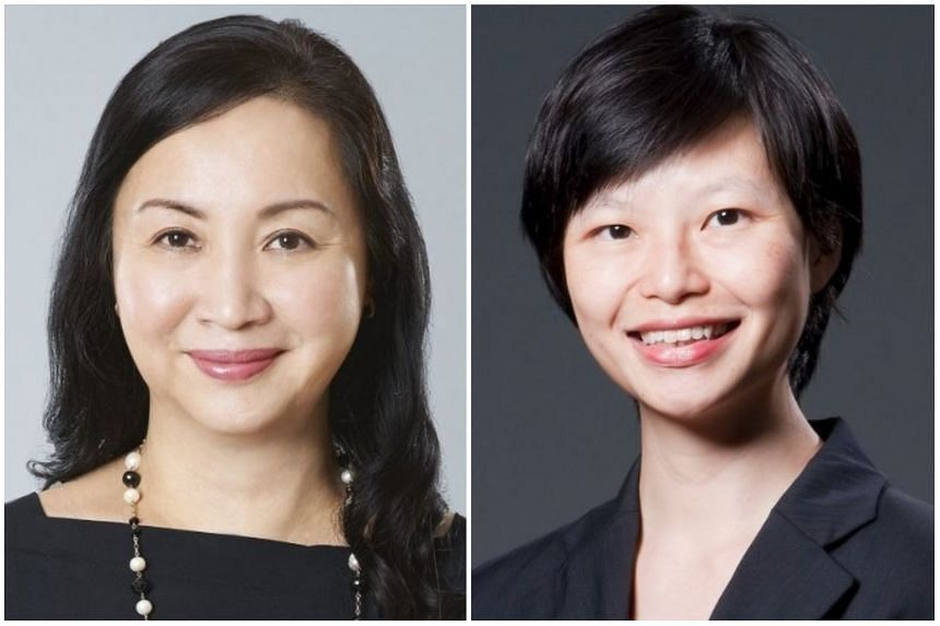 Ms Tan Gee Keow (right) will take over as permanent secretary for the Ministry of Culture, Community and Youth, following the retirement Ms Yeoh Chee Yan.
