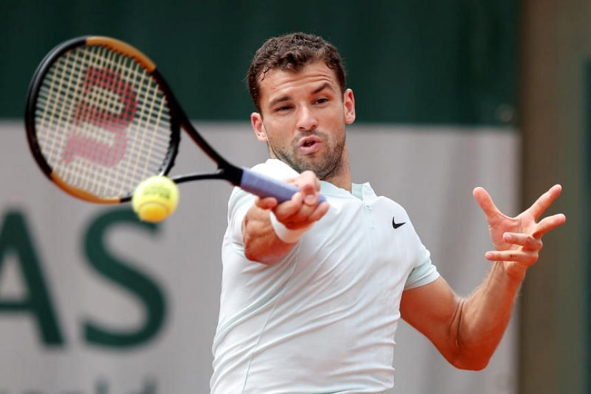 Grigor Dimitrov, a two-time Grand Slam semi-finalist, has still never reached the second week at Roland Garros in eight attempts.