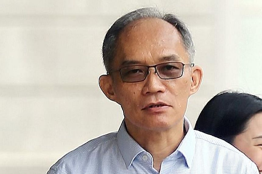 Former Ipco interim CEO Goh Hin Calm, an alleged accomplice of Soh and Quah, faces six charges.