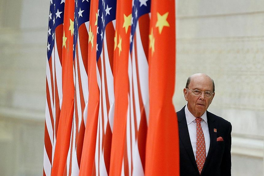 US Commerce Secretary Wilbur Ross is in Beijing from today to Monday to pin down the terms of an agreement that will see China buying more American agricultural and energy products.