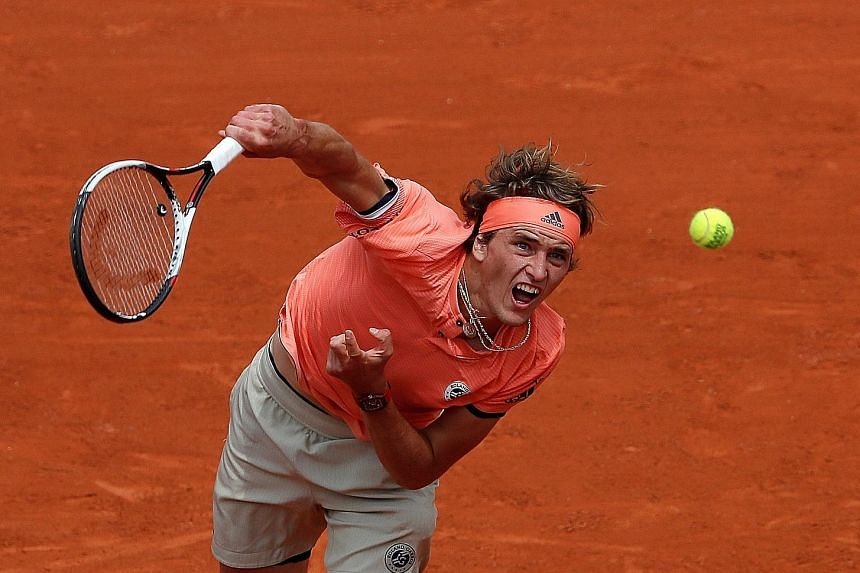 Alexander Zverev, aiming to be the first German man to win the title in 81 years, came back from the brink to reach the fourth round by outlasting Bosnia's Damir Dzumhur.