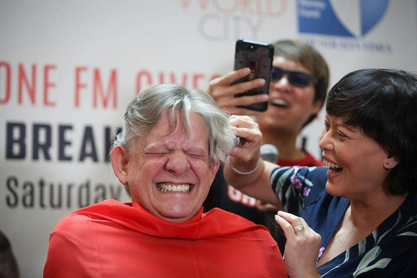 ONE FM 91.3 radio deejay Mark van Cuylenburg, otherwise known as the Flying Dutchman, agreed to lose his locks after a dare on air with fellow presenter and executive producer, Andre Hoeden.