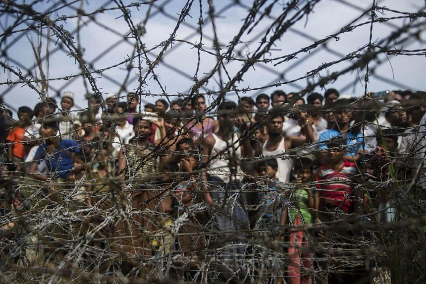 Nearly 700,000 people from the Rohingya Muslim minority have fled Myanmar's Rakhine state since the military-led crackdown in August 2017.