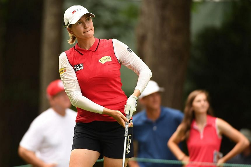 Sarah Jane Smith played with a confidence that belied her recent poor results and a career resume that does not include a single LPGA victory in 222 starts.