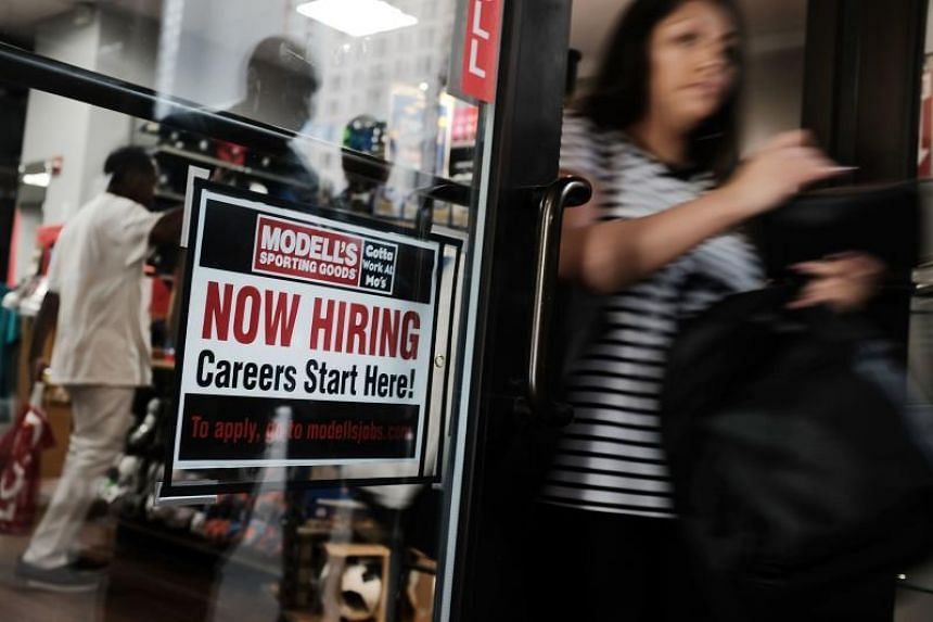 Unemployment rate fell to an 18-year low of 3.8 per cent.