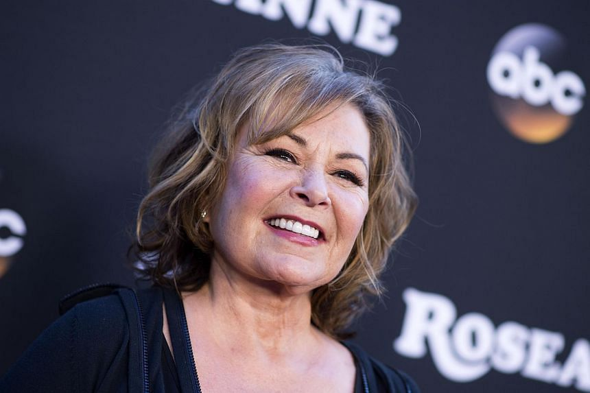 Roseanne Barr's show was ABC's most-watched programme in the previous TV season.