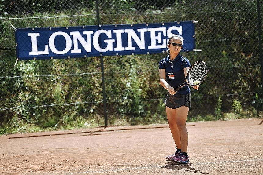 The Longines Future Tennis Aces tournament in Paris was an eye-opener for Adithya Suresh and Sarah Anne Wong. Both lost all their matches on the clay courts.