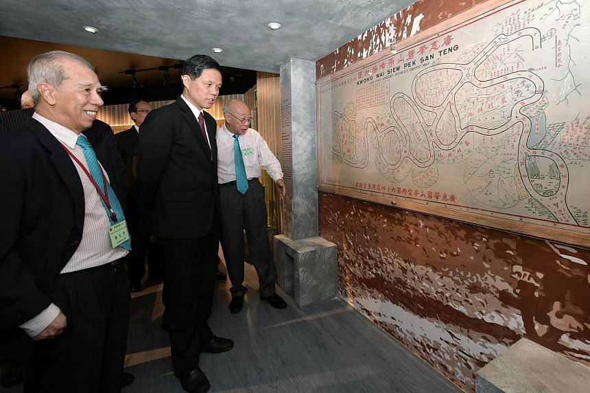 Kwong Wai Siew Peck San Theng was opened by Minister for Trade and Industry Chan Chun Sing on June 3, 2018.