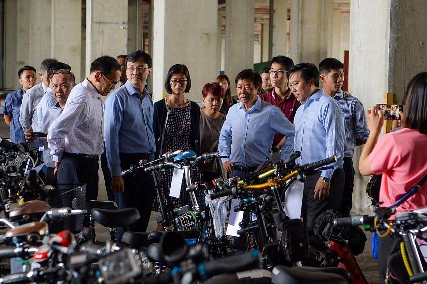 Transport Minister Khaw Boon Wan said that most users are responsible in ensuring safety for themselves and others.