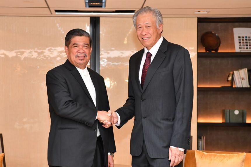 Defence Minister Ng Eng Hen and his Malaysian counterpart Mohamad Sabu affirmed the warm and long-standing defence relations between Singapore and Malaysia.