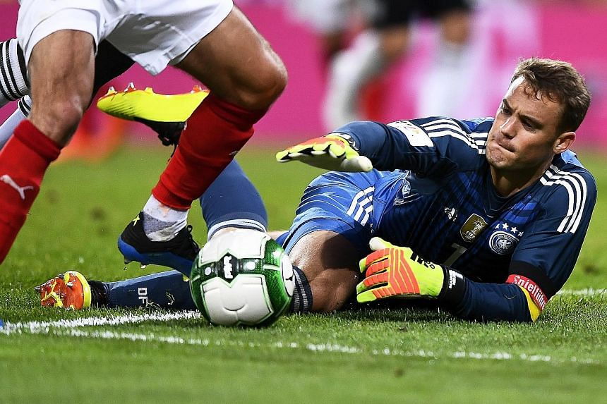 Bayern Munich goalkeeper Manuel Neuer looks set to go to Russia, having had a good comeback after eight months out with a foot injury.