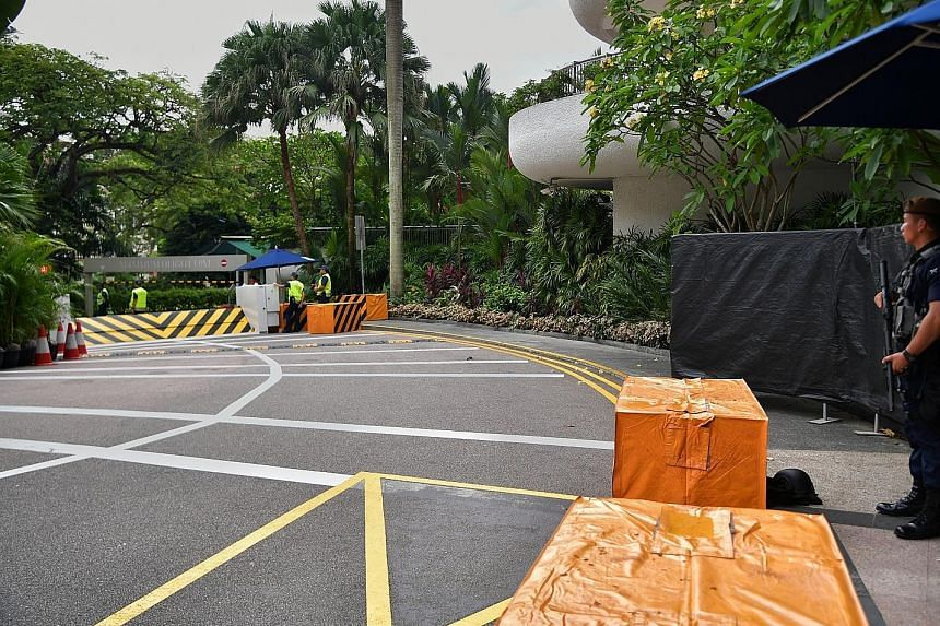 Having hosted prominent events and personalities before, Shangri-La Hotel and its staff are familiar with security protocols, say experts.