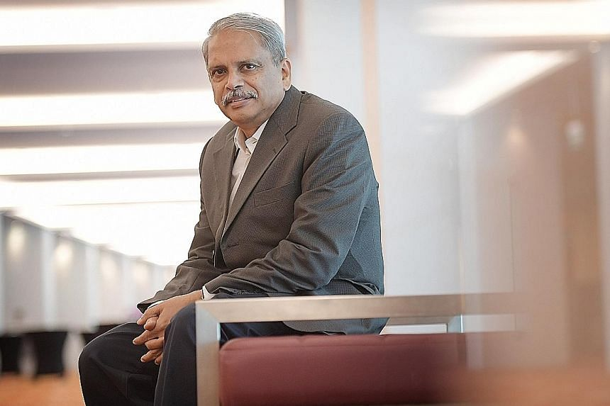 Mr Senapathy Gopalakrishnan's early ambition was to be a doctor, but when that did not pan out, he studied for a physics degree and later earned a master's degree in computer science.