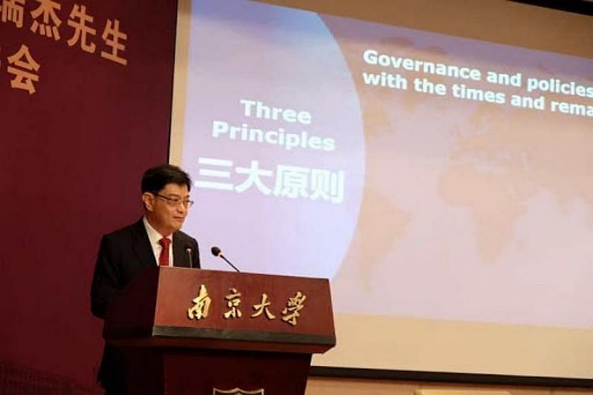 Finance Minister Heng Swee Keat said Singapore seeks to build good relations with other countries, be a friend of many and an enemy of none.
