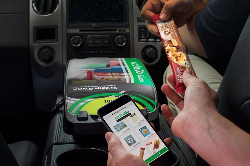 Called Grab&Go, the new service represents the first international expansion for New York-based Cargo - which has teamed up with drivers of ride-hailing giants such as Uber and Lyft in the United States.