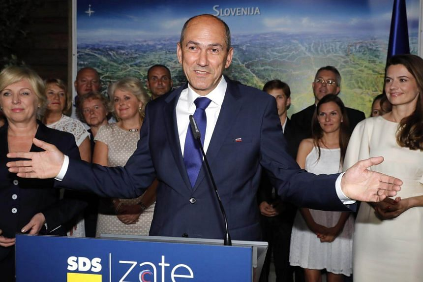 With virtually all the votes counted, Janez Jansa's anti-immigration party SDS has secured just under 25 per cent - giving it 25 seats in the 90-seat assembly.