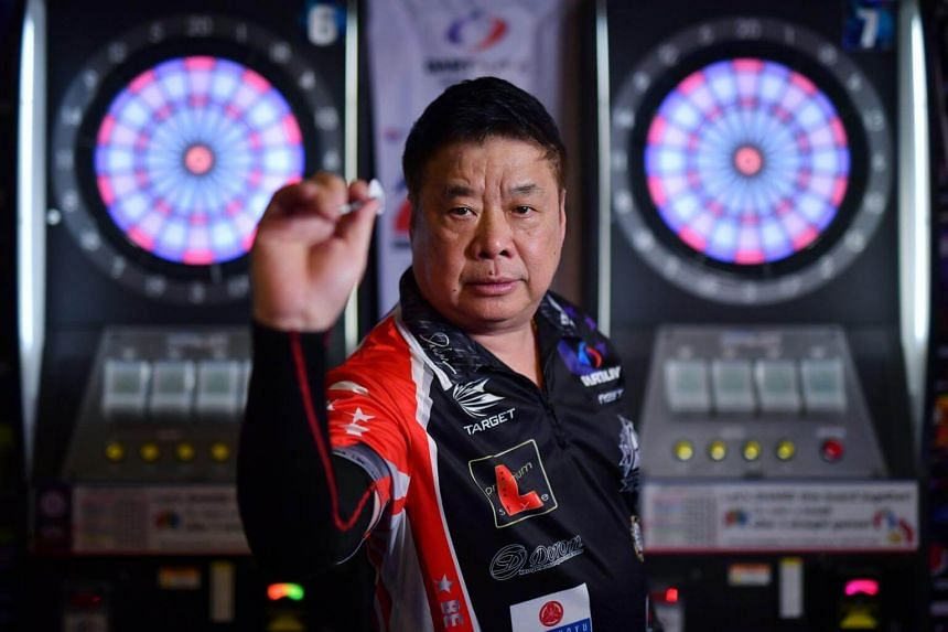 Paul Lim was fearless as he kicked off Singapore's second-round encounter against four-time winners and second seeds England with a maximum 180 from his first three darts against Cross.
