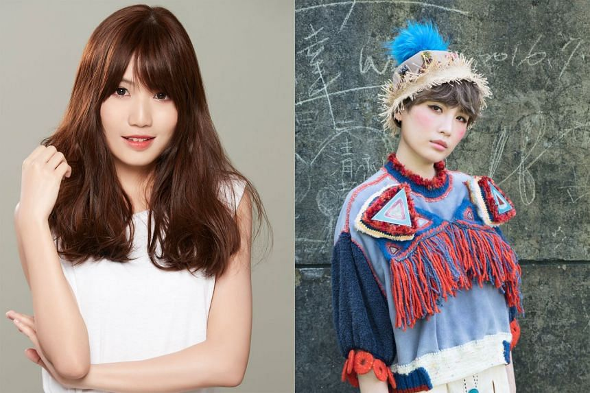 The line-up of musicians for Calling in::music includes Boon Hui Lu (left) and Waa Wei (right).