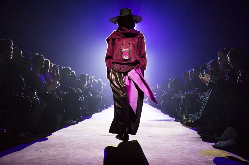 A look from Marc Jacobs' fall 2018 collection.