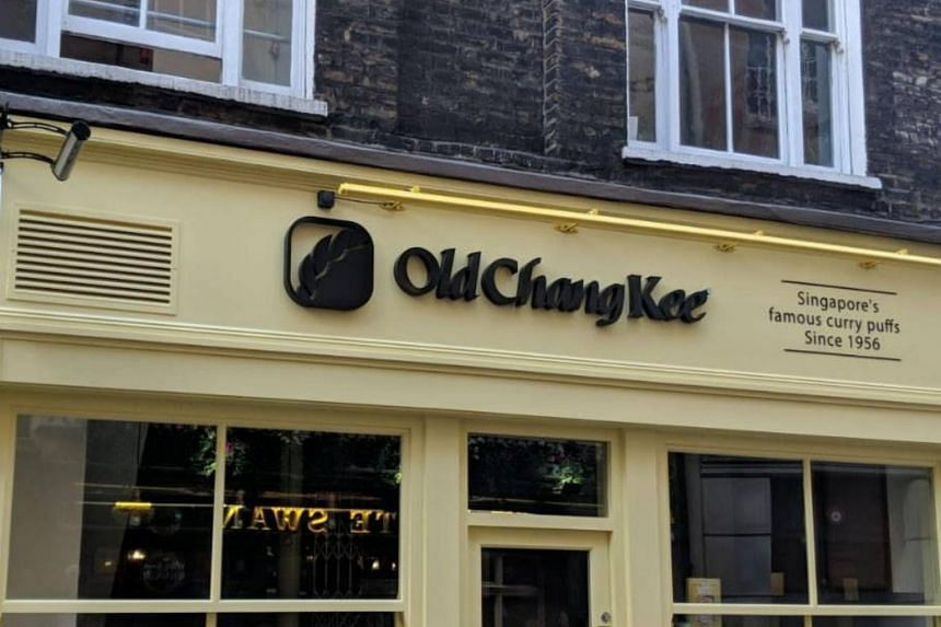 Old Chang Kee's entry in Britain is a joint venture between the chain and a Singaporean who has been living in London for the past seven years.