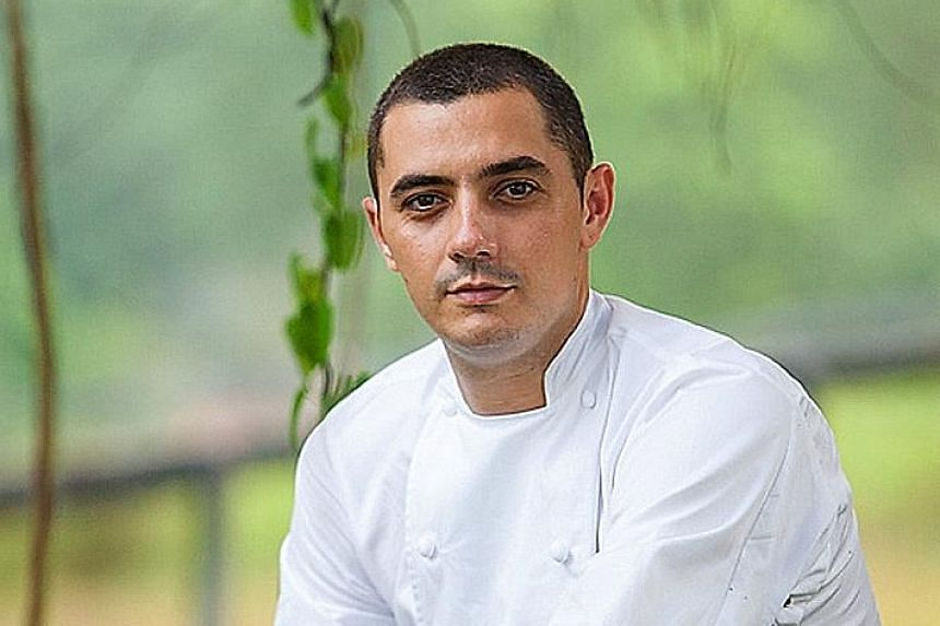 Odette (above) has two Michelin stars.