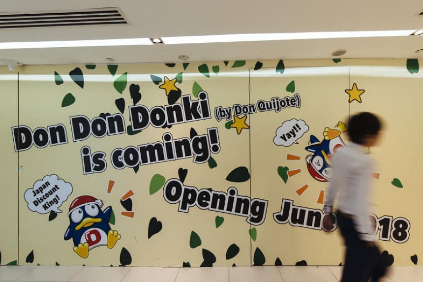 Similar to its first store in Orchard Central, the new Don Don Donki outlet will cover two floors of the 100AM mall.