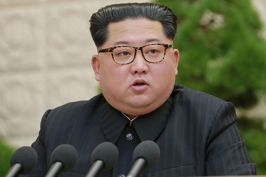 North Korean leader Kim Jong Un (pictured) is scheduled to hold denuclearisation talks with US President Donald Trump in Singapore on June 12.