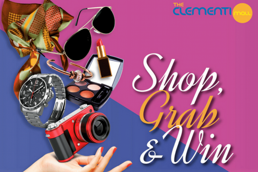 Shop Grab and Win at the Clementi Mall