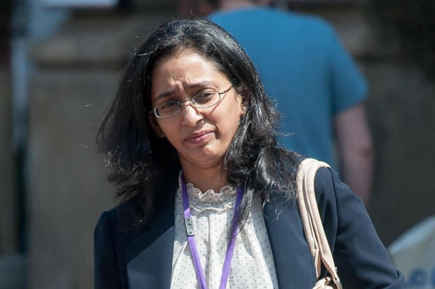 A medical tribunal ruled that Dr Vaishnavy Laxman (above) should have performed an emergency caesarean section on the mother, as the premature infant had been in a breech position.