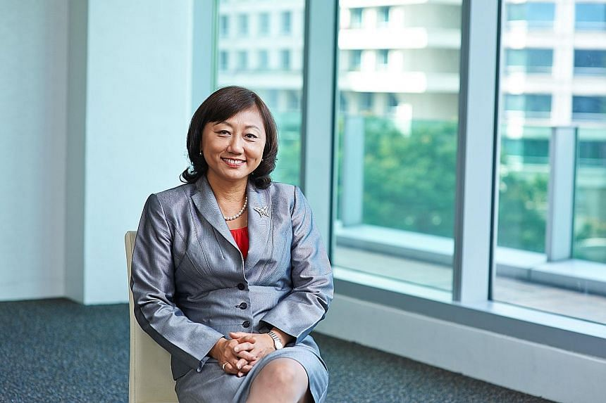 """Azalea Investment Management chief executive Margaret Lui says the new product is unique and ground-breaking, and """"over time, we hope to offer more innovative products based on private assets to investors"""". PHOTO: AZALEA INVESTMENT MANAGEMENT."""