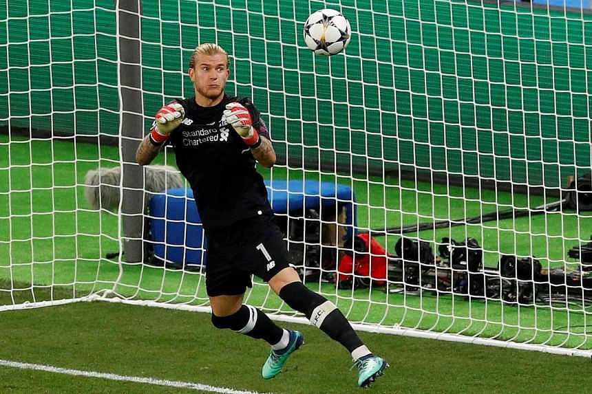 Liverpool goalkeeper Loris Karius fumbling a shot from Gareth Bale that resulted in a goal during Real Madrid's Champions League final win. Medical reports concluded the German suffered from a concussion earlier in the match.