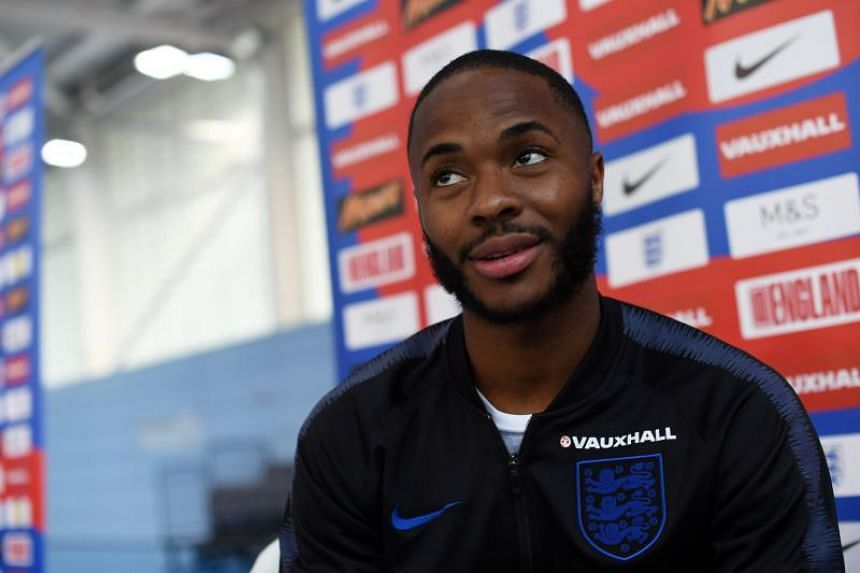 England footballer Raheem Sterling rejected suggestions that the team should be happy with progress to the quarter-finals this time round.